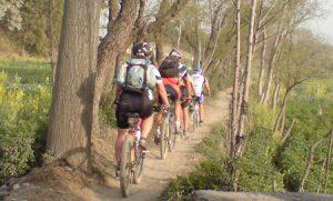 cycle village tour