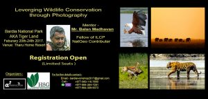 Leverging wildlife conservation through photography