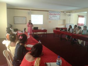 ToT Training on Enhancement of acceess of woman  to natural resources and justice