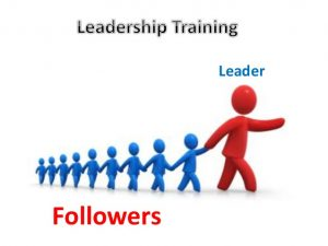 Leadership Development Training from 28th March to 2nd April 2017
